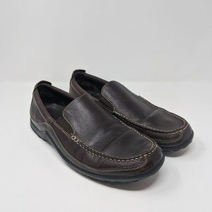 Cole Haan Brown Leather Slip On Loafers Men's 11.5